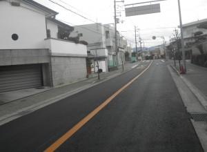 河原城駒ヶ谷線舗装工事