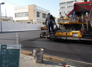 富田林市役所駐車場