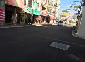 古市駅前舗装工事