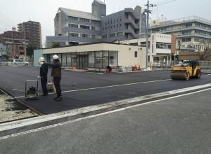 富田林セブンイレブン新設工事